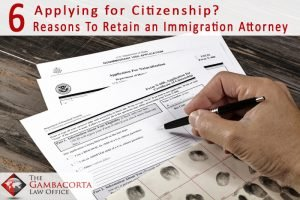 Applying for citizenship