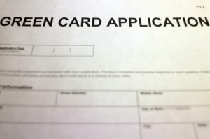 Green card application