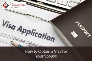 Visa application and passport